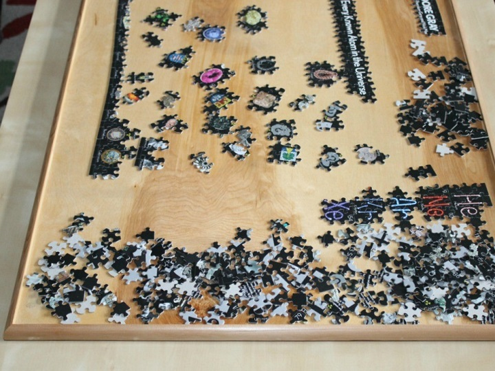 What Size Should a Puzzle Table Be?