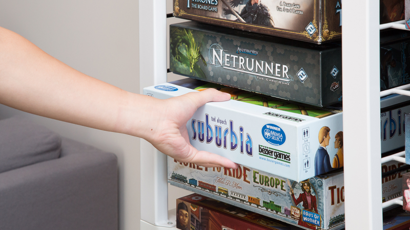 How To Store Board Games