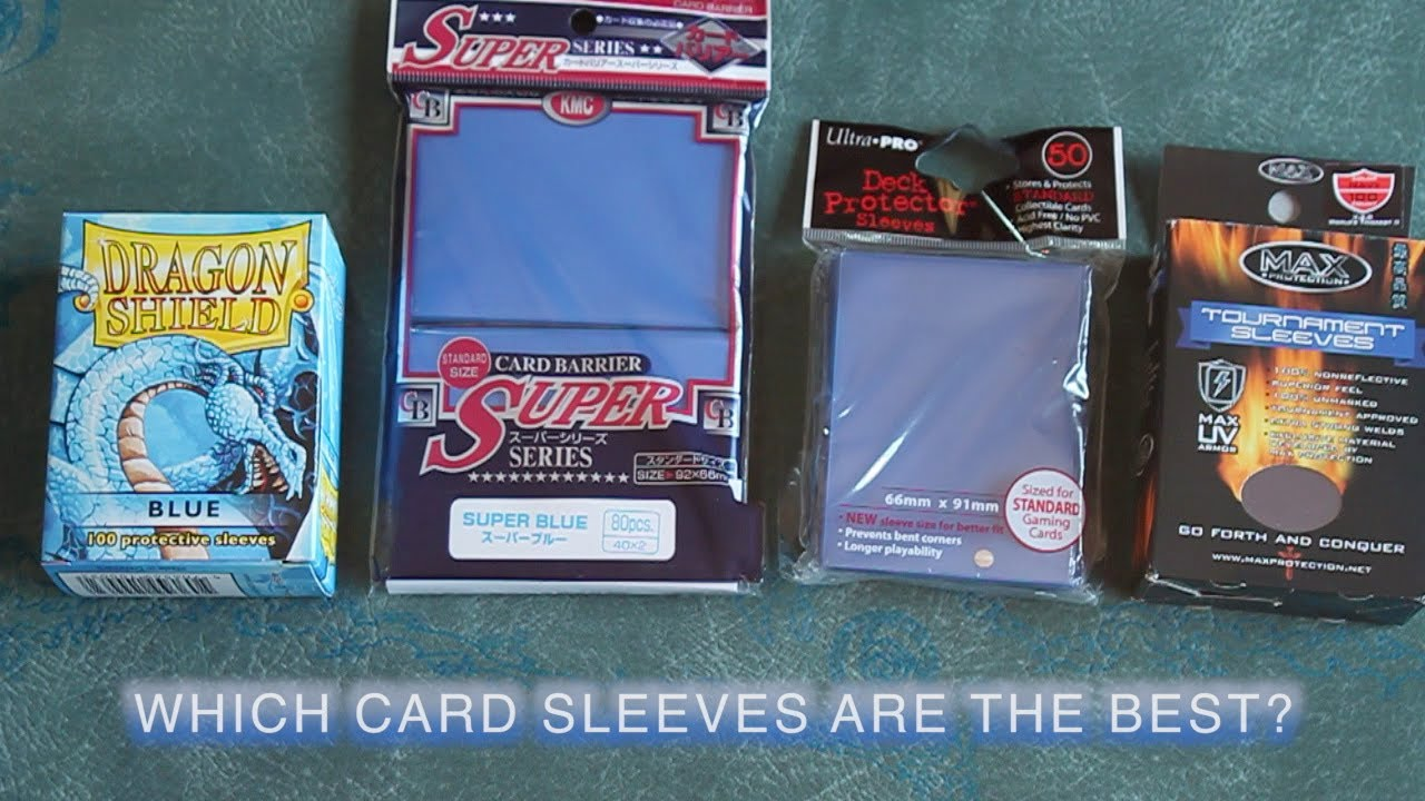 Best Sleeves For Magic Cards
